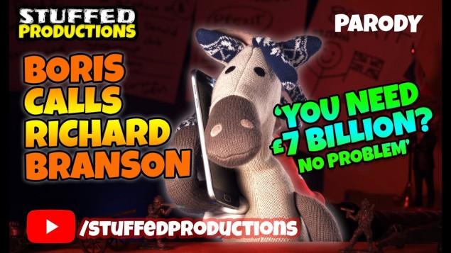 Boris helps Richard Branson with a £7 Billion Bailout! – Parody – PART 2
