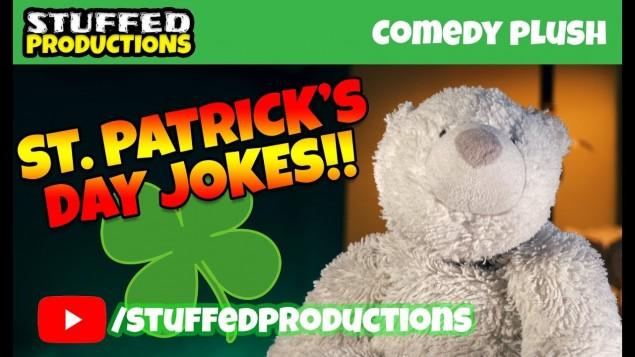 Funny St Patrick's Day Jokes! Read by a Polar Bear?!