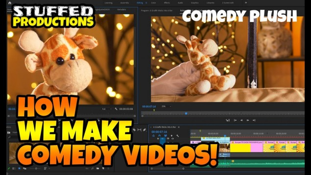 How We Make Plush Videos For YouTube!