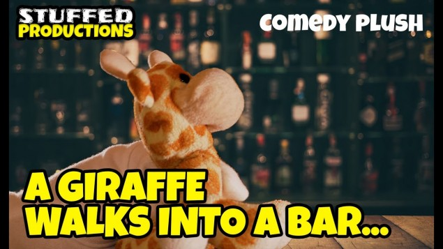 A Giraffe Walks Into A Bar…  A Joke Video By Stuffed Productions
