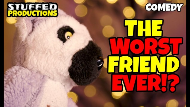 A Friend In Needs A Friend Indeed! – British Comedy Series! (Puppet Show Videos!)