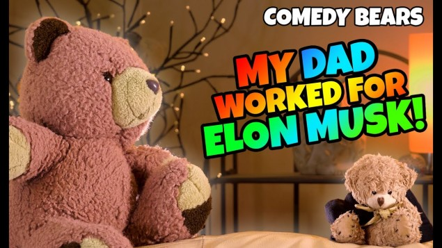 Ted had a job working with Elon Musk? And was the First NASA Teddy Bear! – Ted Movie